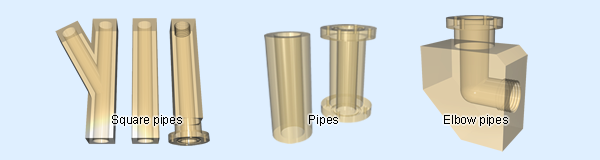 PPSU pipes, Elbow